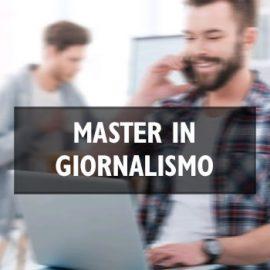 Master in Giornalismo