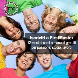 Iscriviti a FirstMaster